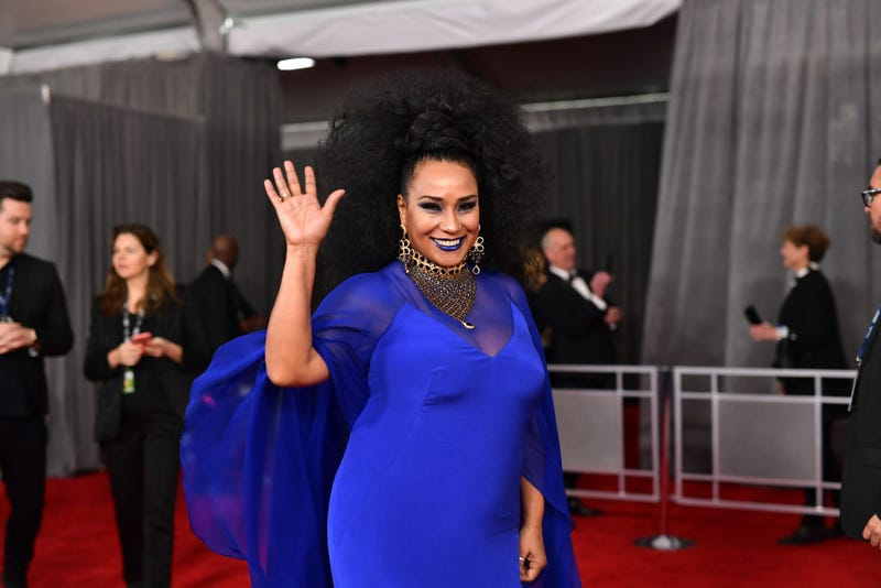 Aymee Nuviola attends the 62nd Annual GRAMMY Awards at STAPLES Center on January 26, 2020 in Los Angeles, California.