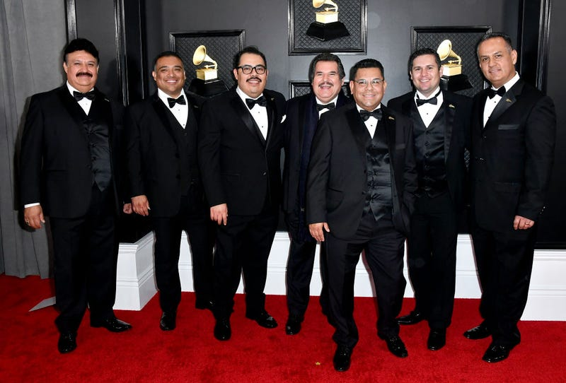 Mariachi los Camperos attends the 62nd Annual GRAMMY Awards at STAPLES Center on January 26, 2020 in Los Angeles, California.