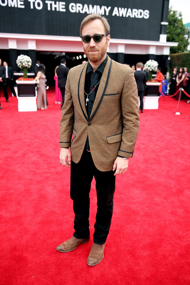 Dan Auerbach attends the 62nd Annual GRAMMY Awards at STAPLES Center