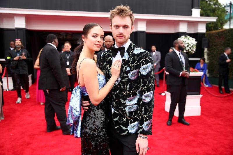 Finneas O'Connell and Claudia Sulewski attends the 62nd Annual GRAMMY Awards