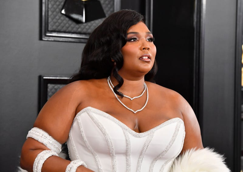 Lizzo attends the 62nd Annual GRAMMY Awards