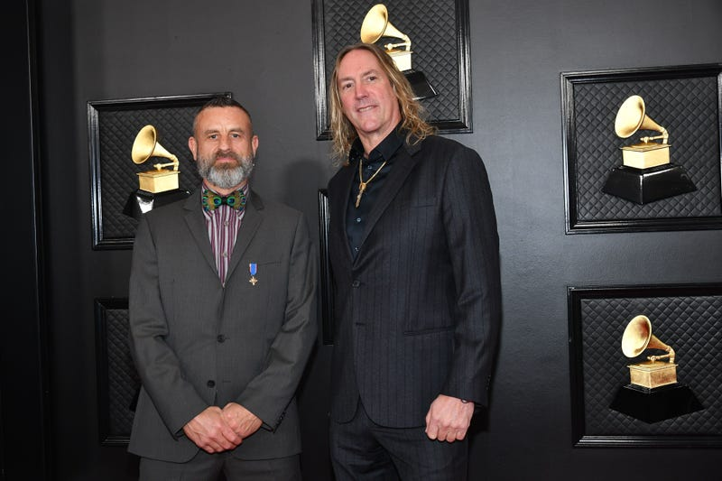 Tool attends the 62nd Annual GRAMMY Awards at Staples Center