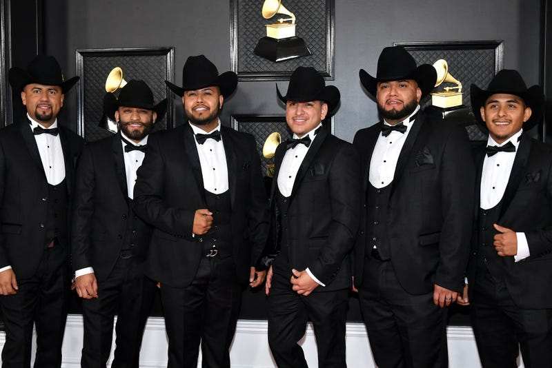 La Energia Norteña attend the 62nd Annual GRAMMY Awards at Staples Center on January 26, 2020 in Los Angeles, California.
