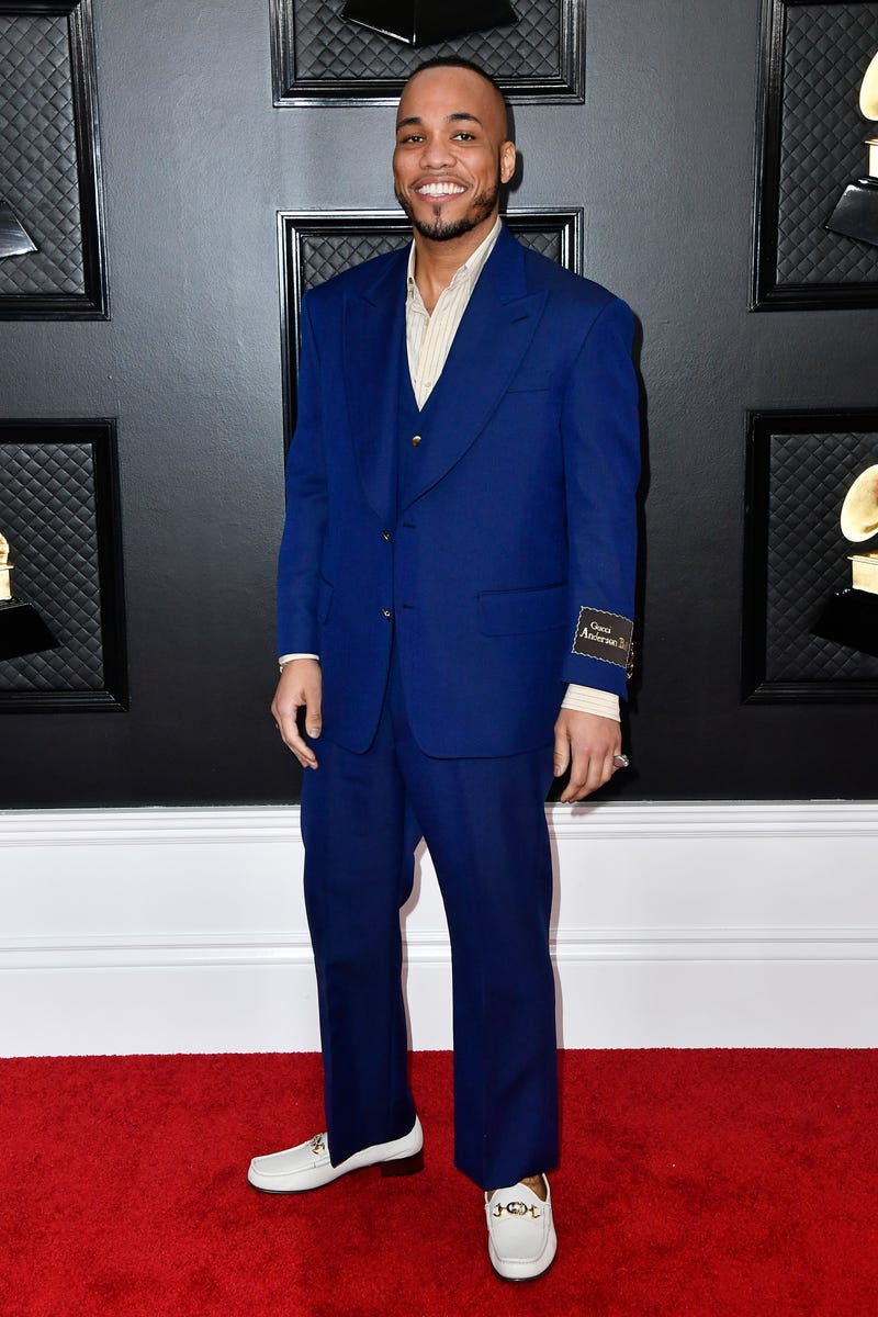 Anderson .Paak attends the 62nd Annual GRAMMY Awards