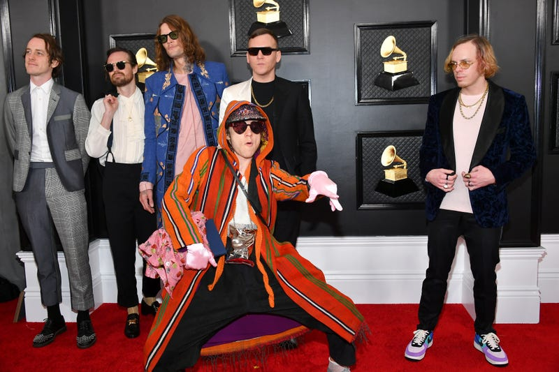 Cage The Elephant attend the 62nd Annual GRAMMY Awards