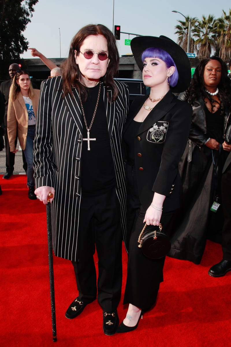 Ozzy Osbourne and Kelly Osbourne attend the 62nd Annual GRAMMY Awards