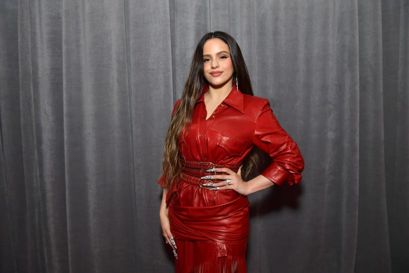 Rosalía attends the 62nd Annual GRAMMY Awards at STAPLES Center on January 26, 2020 in Los Angeles, California.
