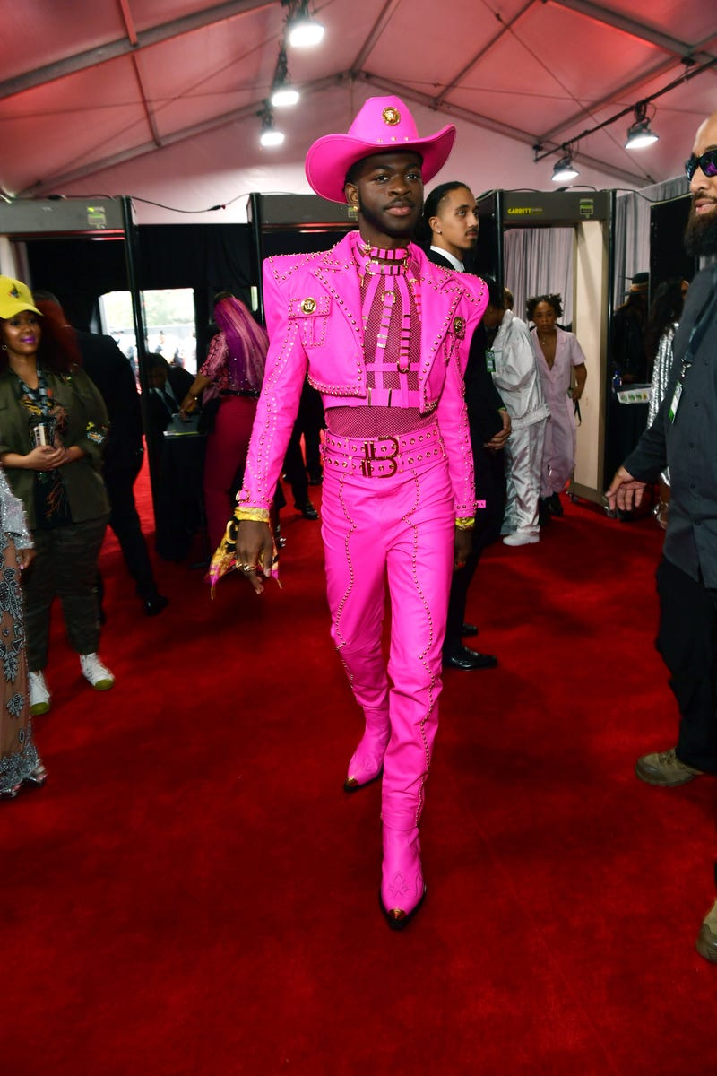 Lil Nas X attends the 62nd Annual GRAMMY Awards at STAPLES Center