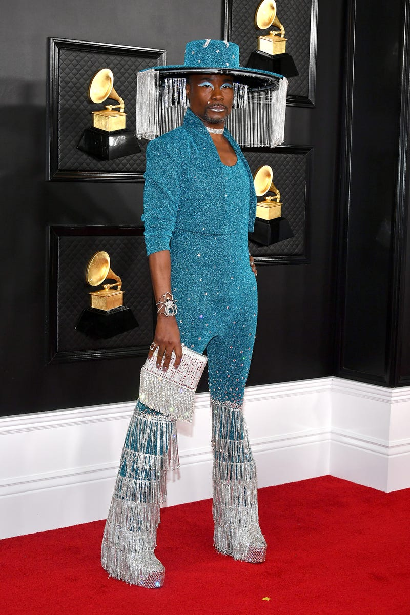 Billy Porter attends the 62nd Annual GRAMMY Awards at Staples Center