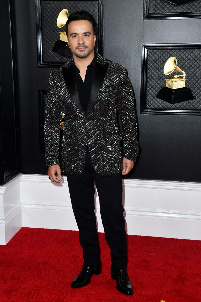 Luis Fonsi attends the 62nd Annual GRAMMY Awards at STAPLES Center on January 26, 2020 in Los Angeles, California. (