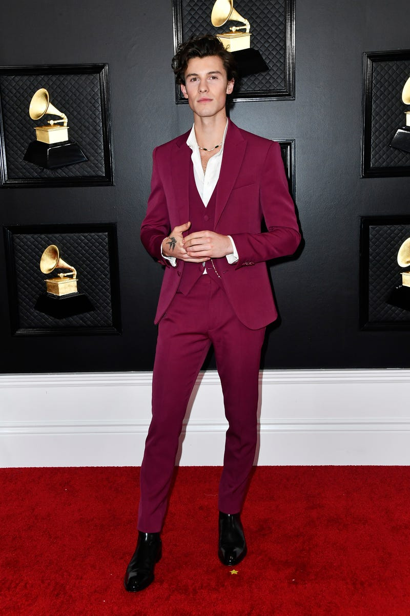 Shawn Mendes attends the 62nd Annual GRAMMY Awards at STAPLES Center