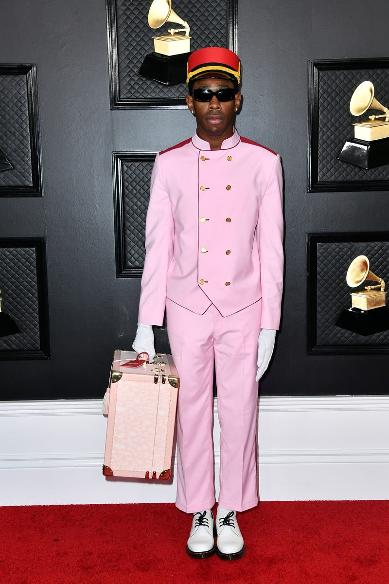 Tyler, the Creator attends the 62nd Annual GRAMMY Awards at STAPLES Center