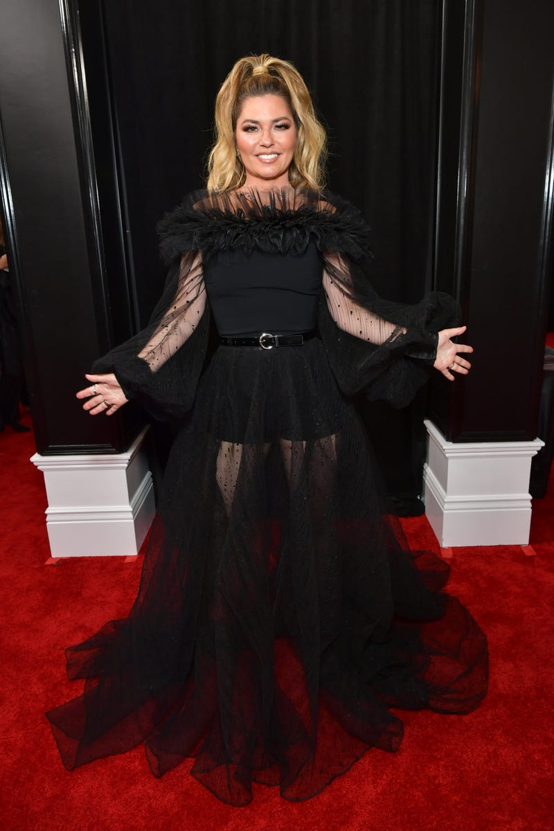 Shania Twain attends the 62nd Annual GRAMMY Awards at STAPLES Center