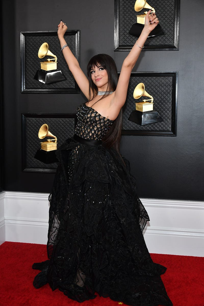 Camila Cabello attends the 62nd Annual GRAMMY Awards at Staples Center