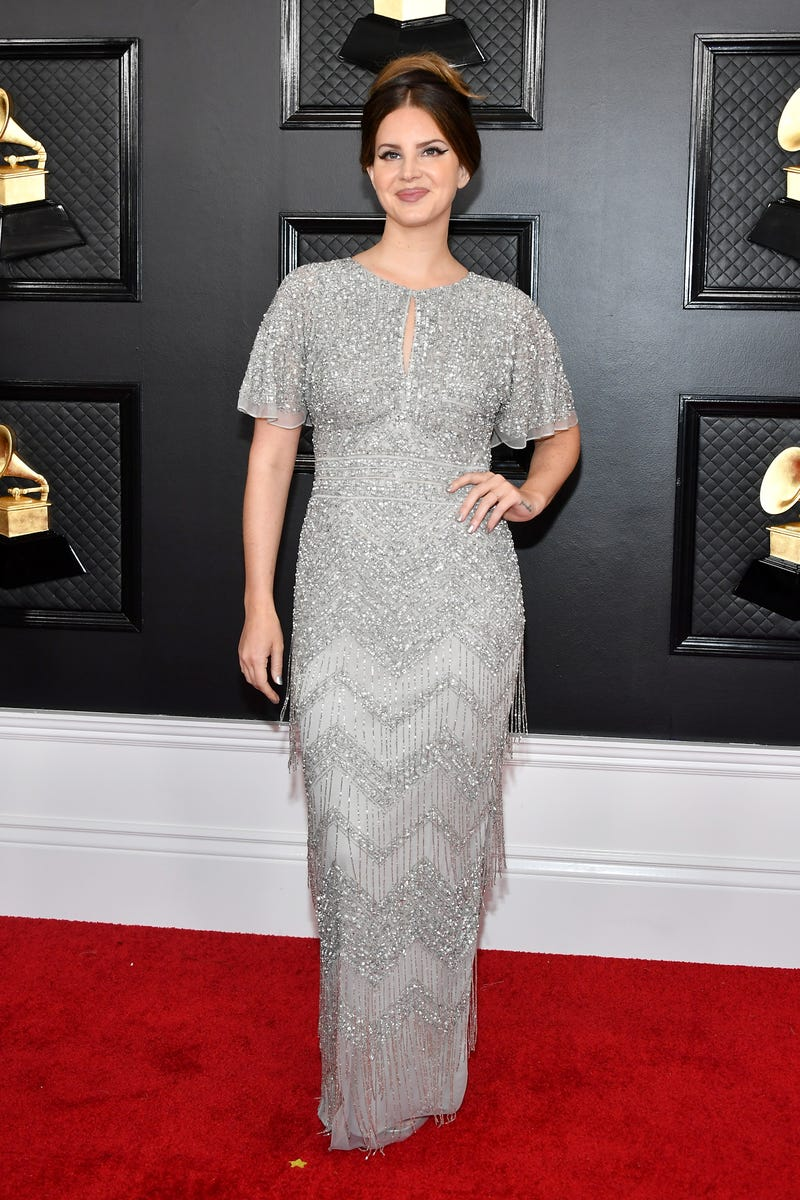 Lana Del Rey attends the 62nd Annual GRAMMY Awards at Staples Center