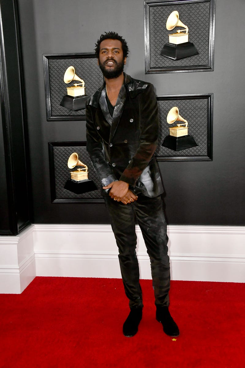 Gary Clark Jr. attends the 62nd Annual GRAMMY Awards at STAPLES Center