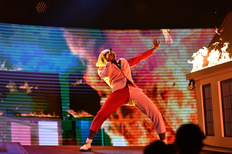Tyler, the Creator performs onstage during the 62nd Annual GRAMMY Awards