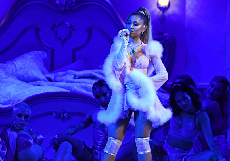Ariana Grande performs onstage during the 62nd Annual GRAMMY Awards