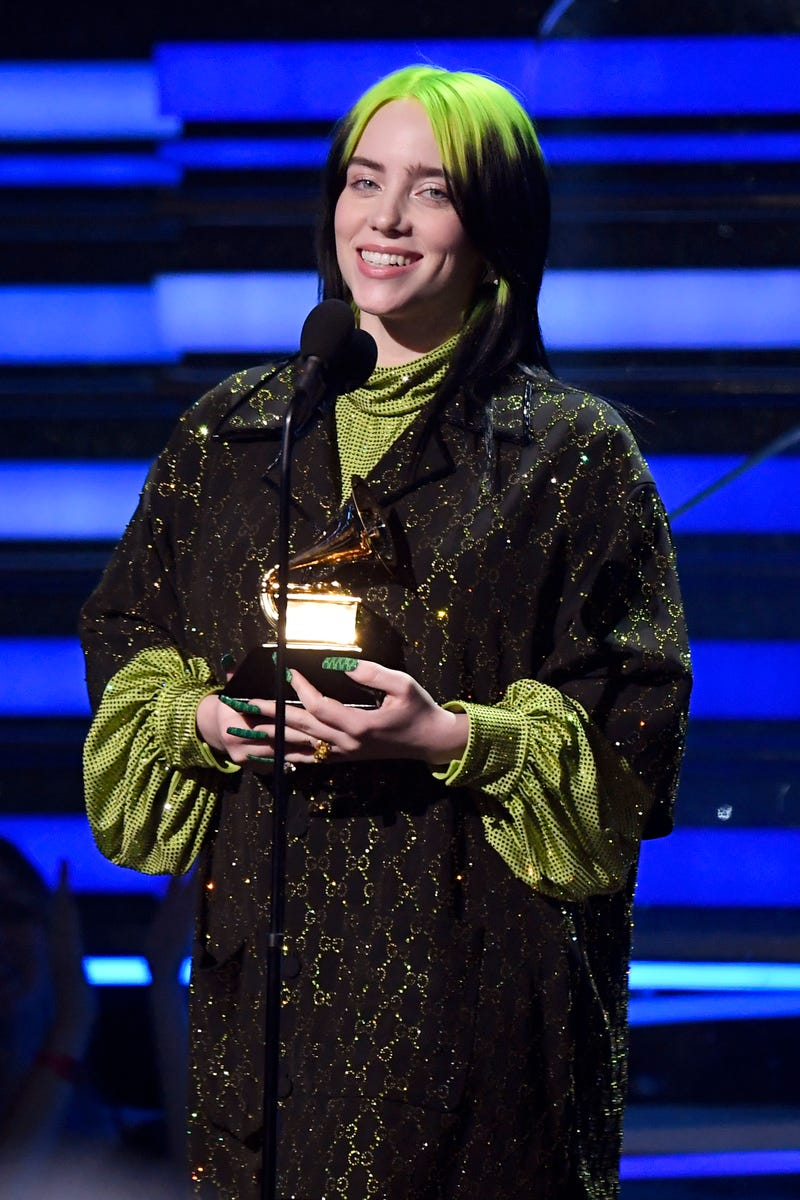 Billie Eilish at the 2020 GRAMMY Awards