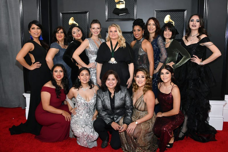 Mariachi Divas de Cindy Shea attends the 62nd Annual GRAMMY Awards at Staples Center on January 26, 2020 in Los Angeles, California.