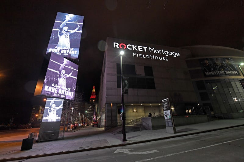 Rocket Mortgage FieldHouse was called Quicken Loans Arena from 2005-19.
