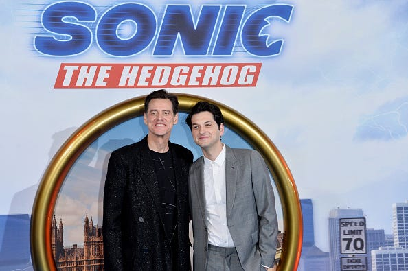 Sonic The Hedgehog Movie Viewers Praise Jim Carrey