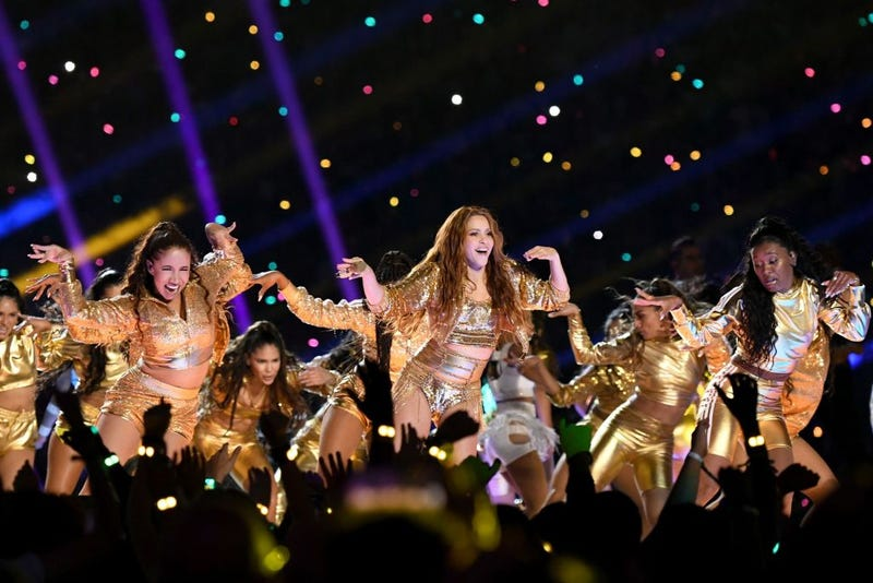 "Shakira baila ""Waka Waka"" en el Super Bowl 2020"