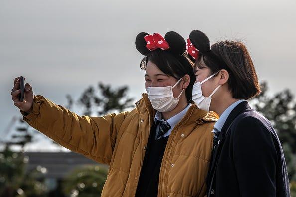 Coronavirus affects Disney