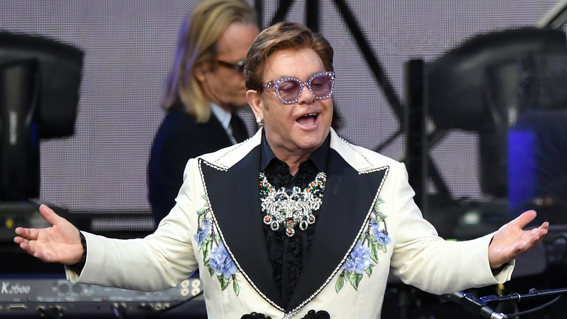 Sorry Suzie: Elton John can't wait to stop playing 'Crocodile Rock'