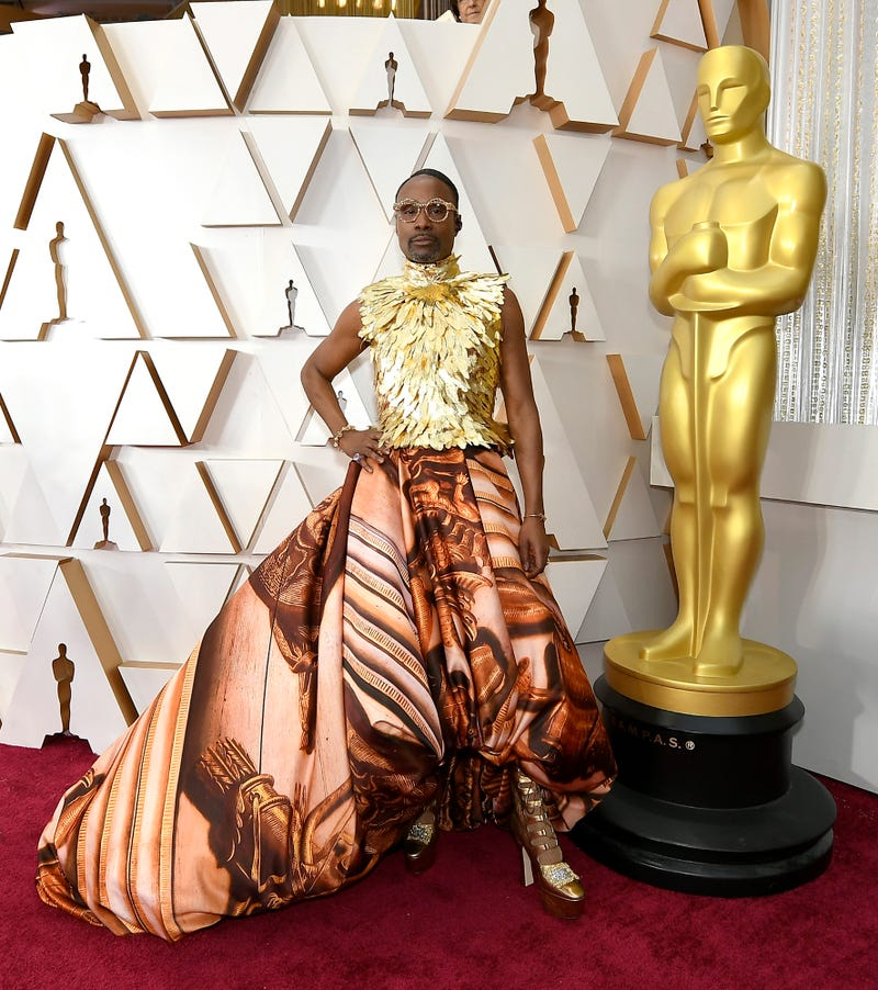 billy porter at the 2020 oscar awards