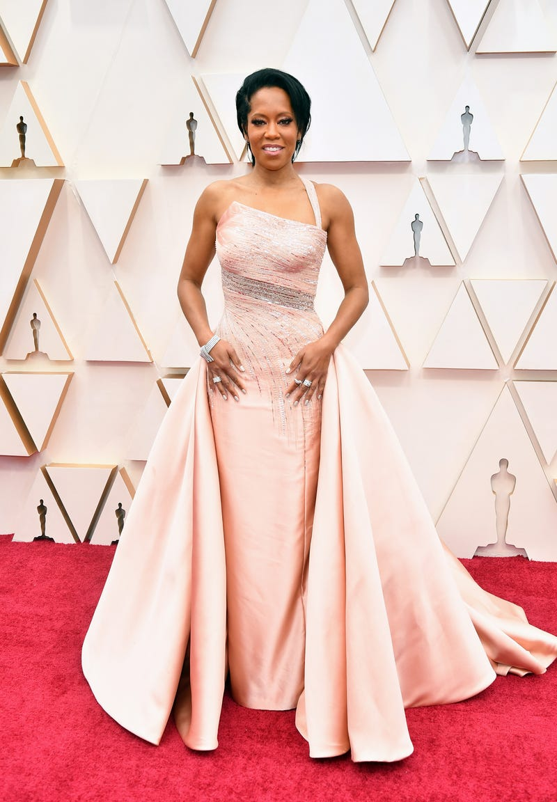 regina king at 2020 oscars