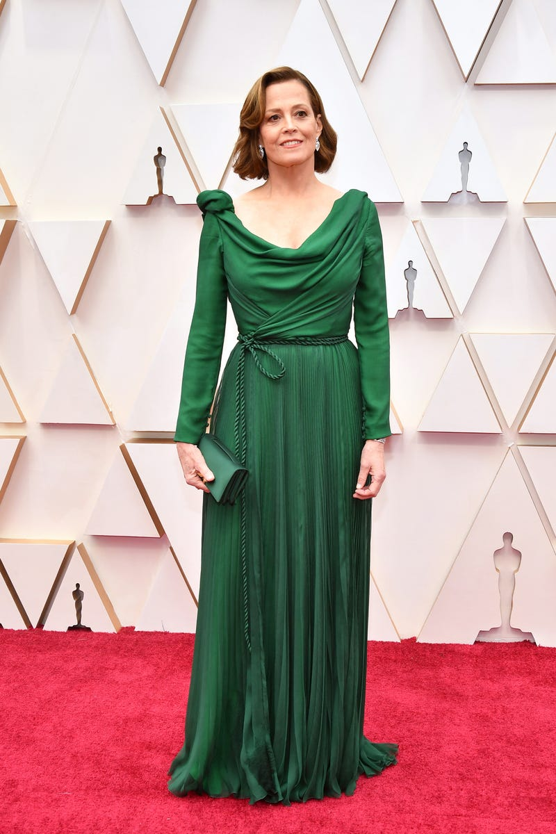 sigourney weaver at 2020 oscar awards