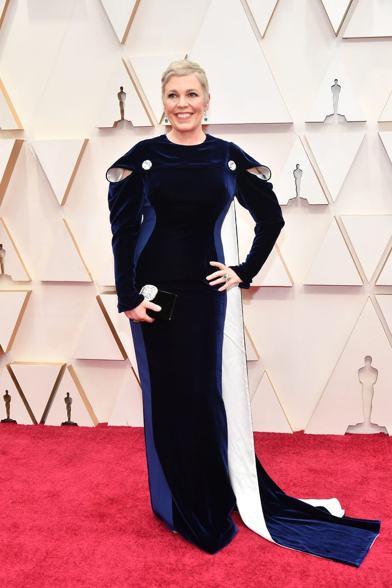 olivia colman at 2020 oscars