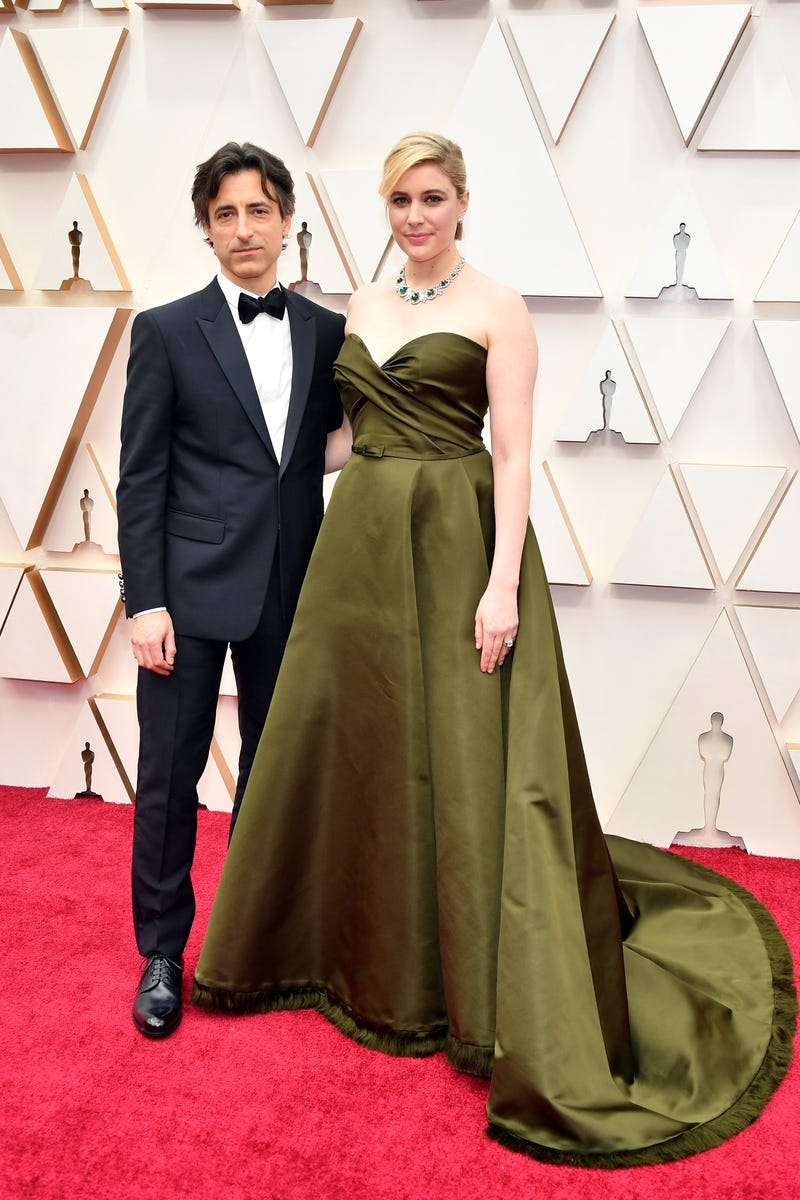 noah baumbach and greta gerwig at 2020 oscars