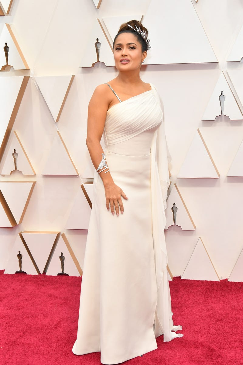 salma hayek at the 2020 oscars