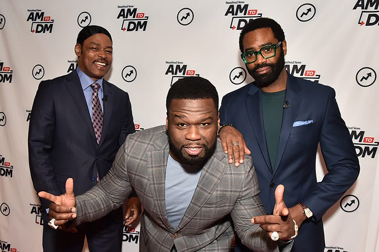 "Isaac Wright Jr, Curtis ""50 Cent"" Jackson, and Nicholas Pinnock"