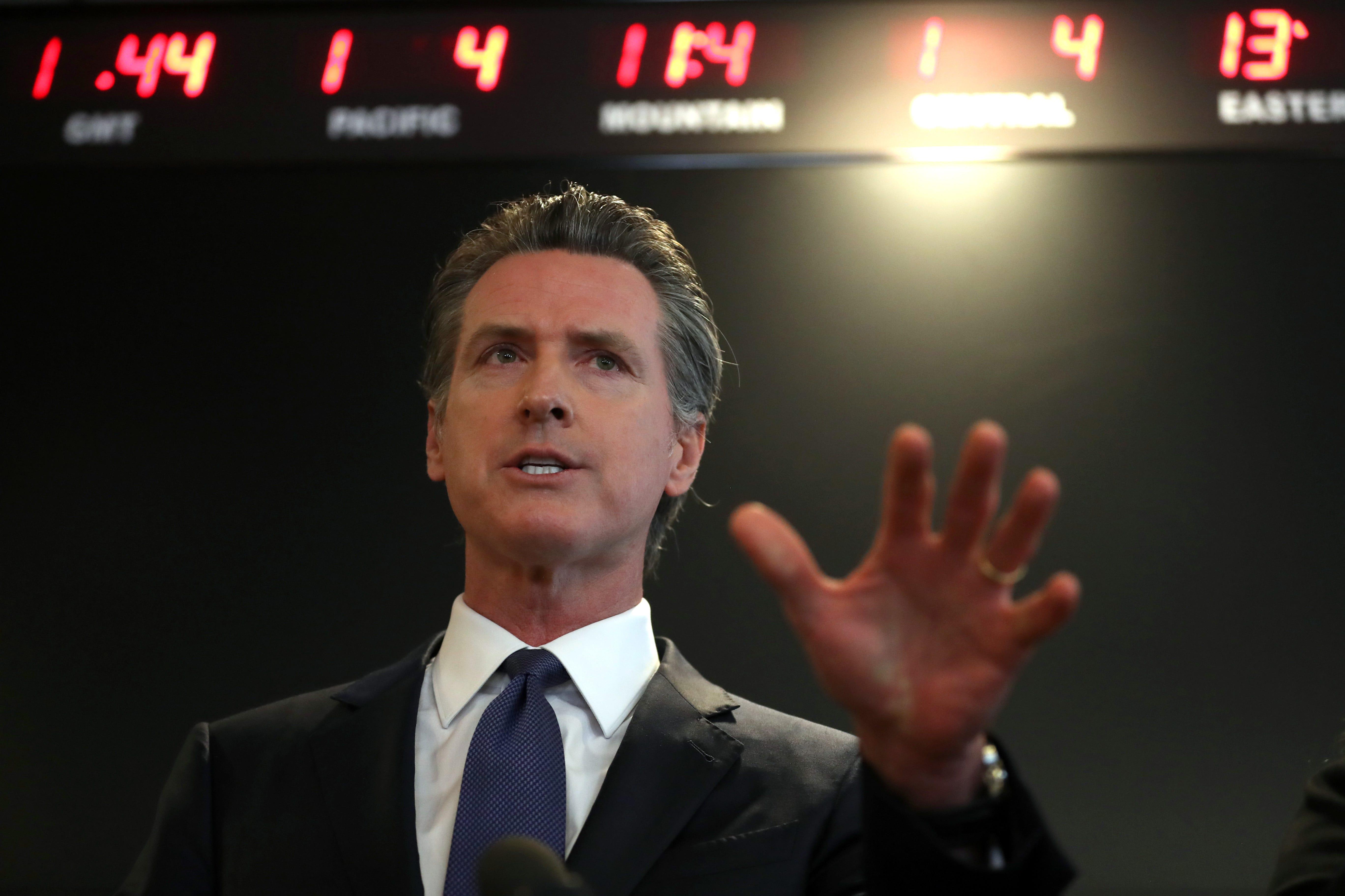News Gov. Newsom signs student loan borrower 'Bill of Rights' into law - RADIO.COM