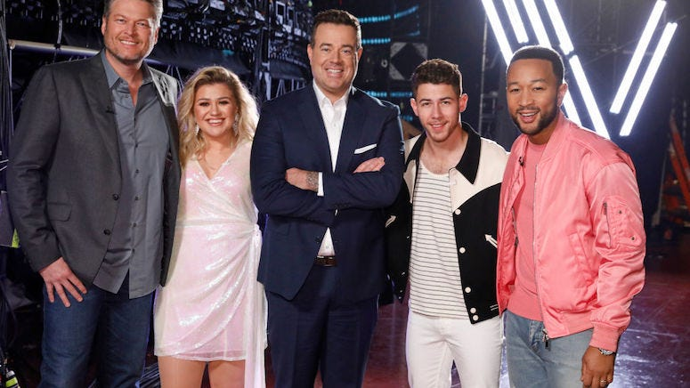 What is the net worth of each of the hosts on 'The Voice'?