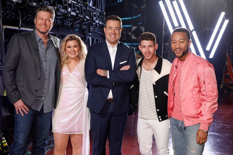 The Voice Season 20 coaches
