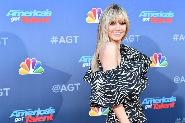 Heidi Klum Falls Sick and Leaves 'America's Got Talent' Taping