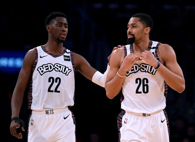 Caris LeVert and Spencer Dinwiddie