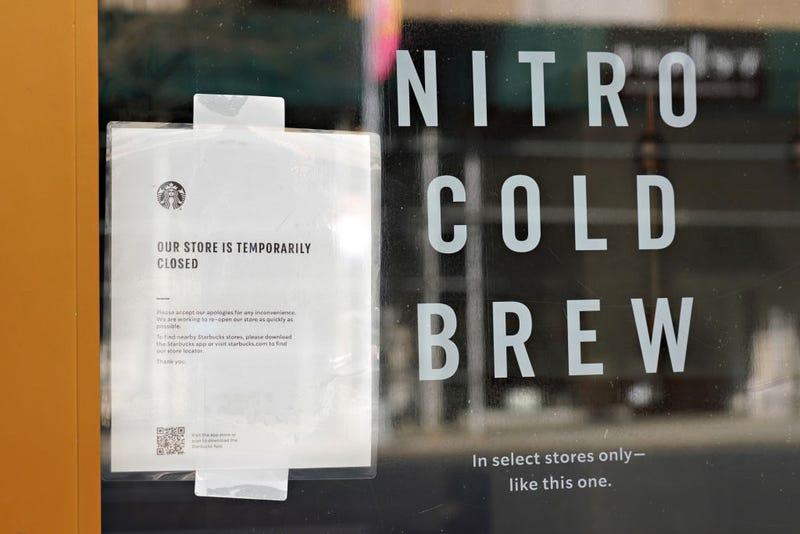 closed Starbucks
