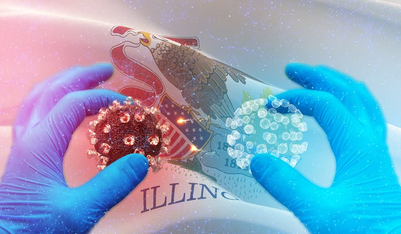 lllinois reports 12,022 new COVID-19 cases, 131 additional deaths