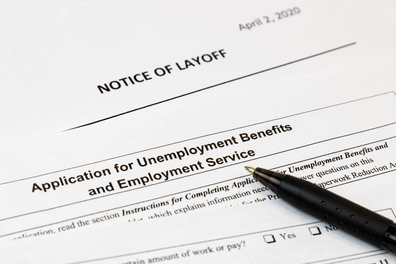An unemployment application.