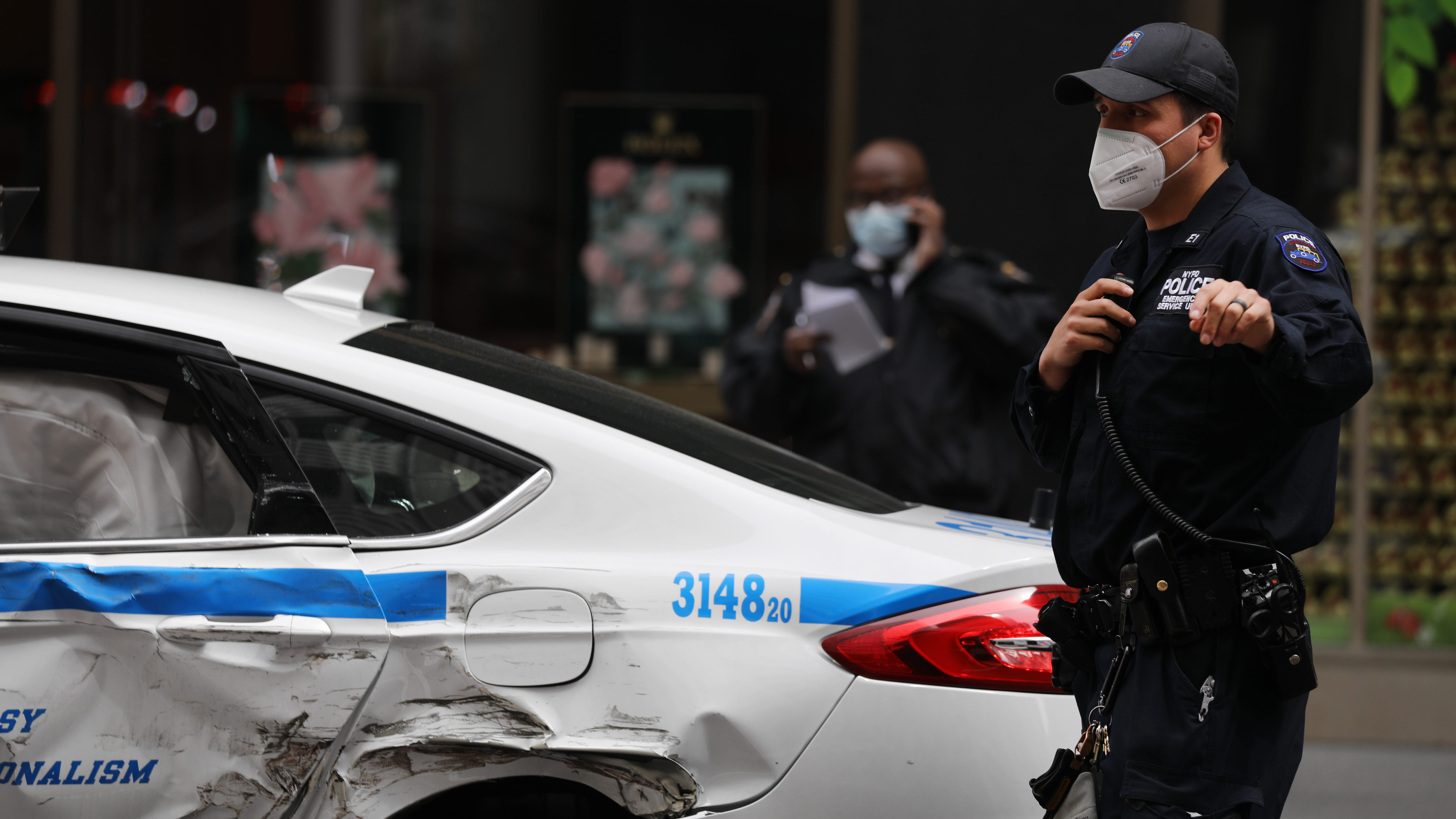 Unvaccinated NYPD officers must wear masks or face 'disciplinary action': report