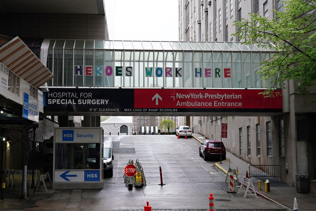 New York-Presbyterian hospital network to mandate COVID vaccinations for staff