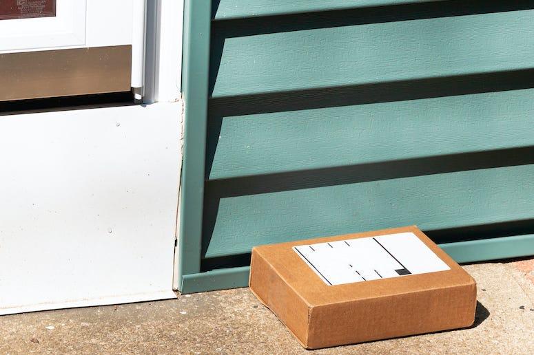 Package, Porch, Front Door