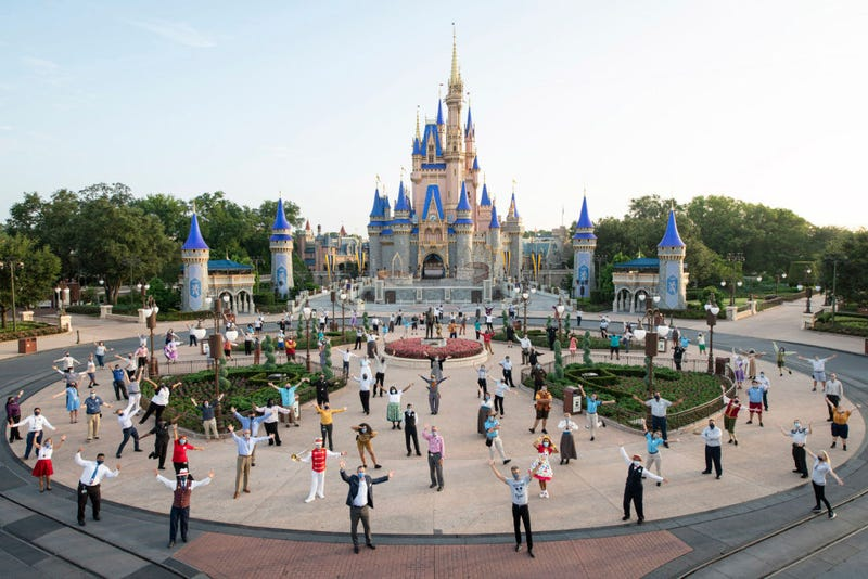 Magic Kingdom Park at Walt Disney World Resort on July 11, 2020 in Lake Buena Vista, Florida.