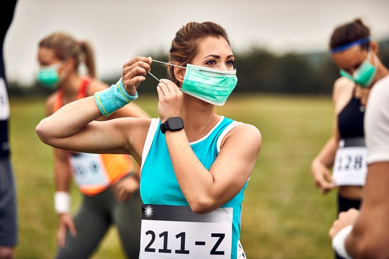 Participants in four races must wear masks on some portions of the course, race officials announced in updates to the race's health protocols over the last two weeks.