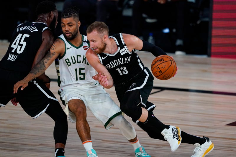 Dzanan Musa against the Milwaukee Bucks